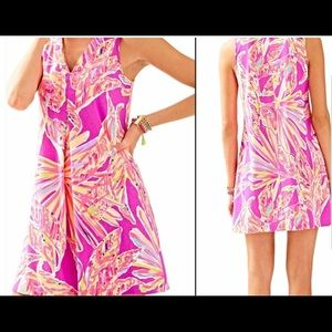 Lilly Pulitzer Amethyst Sunseekers Amina Dress EUC